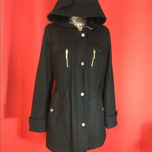 Michael Kors wool jacket. Size 10 black